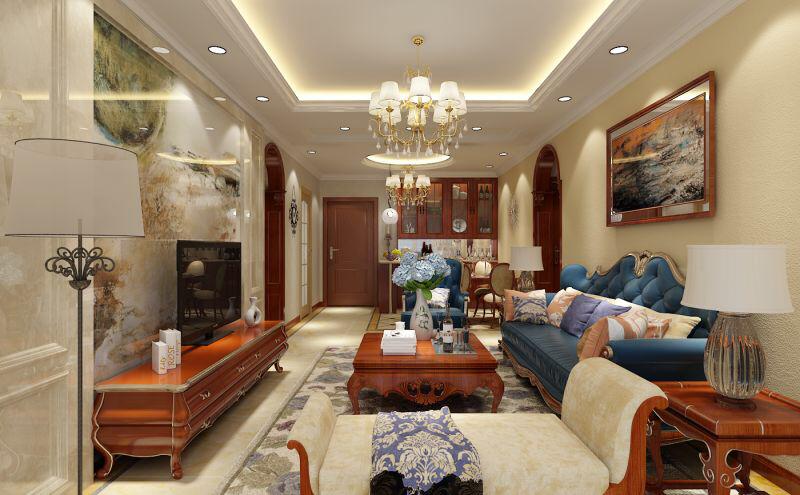 美式風格|家裝案例-臨沂祥森裝飾工程有限公司