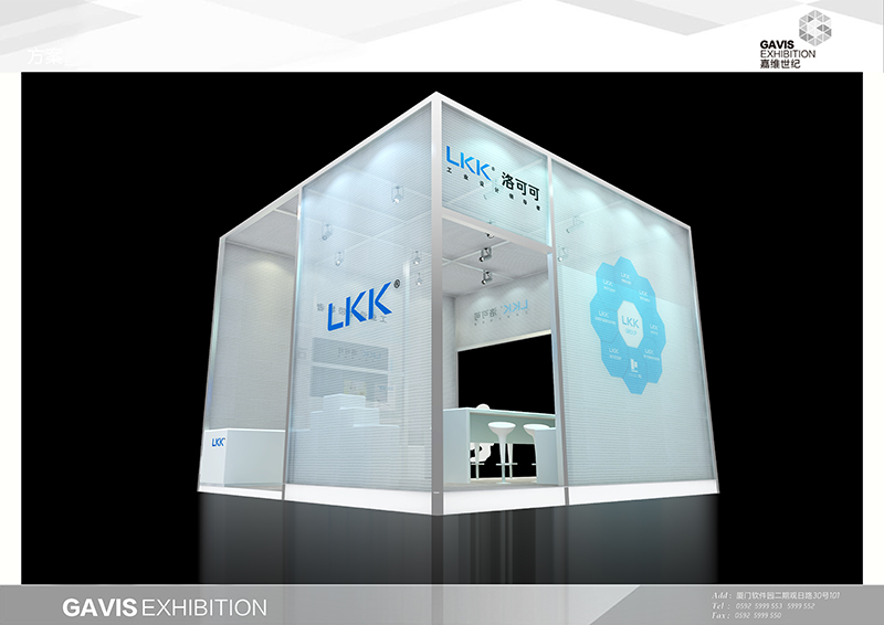 2014廈門設計營商周洛可可展位 展覽特裝-廈門市嘉維世紀會展服務有限公司