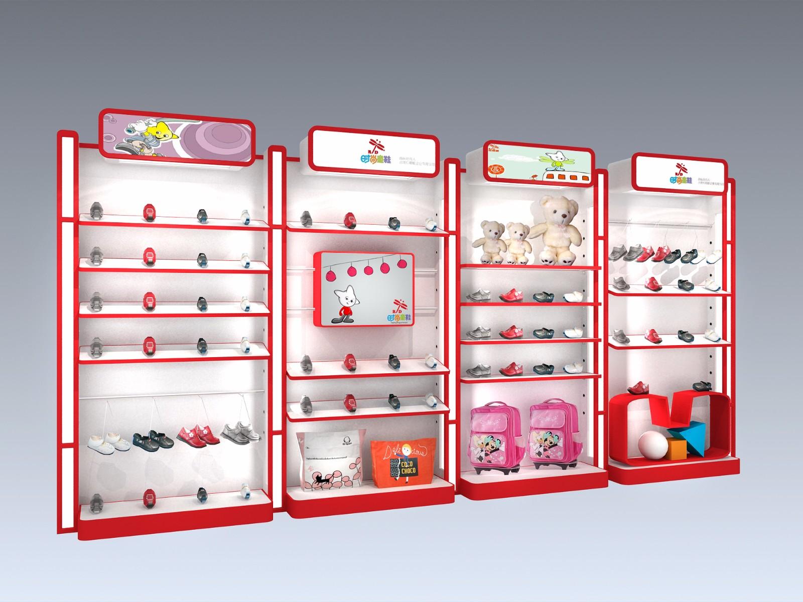 红蜻蜓时尚童鞋专卖店设计|商业空间-厦门市嘉维世纪会展服务有限公司