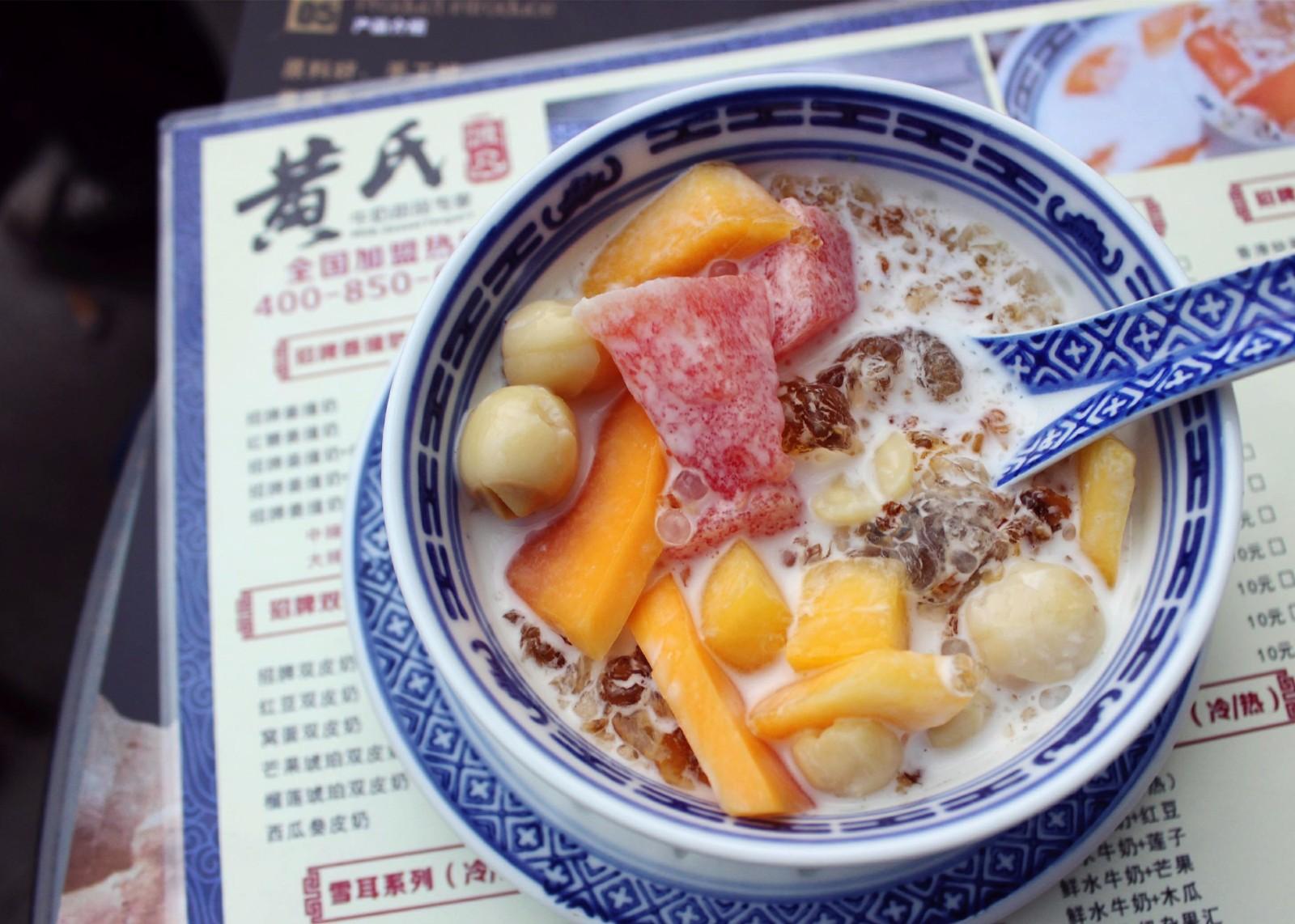 桃胶|黄氏甜品系列-黄氏渡凡