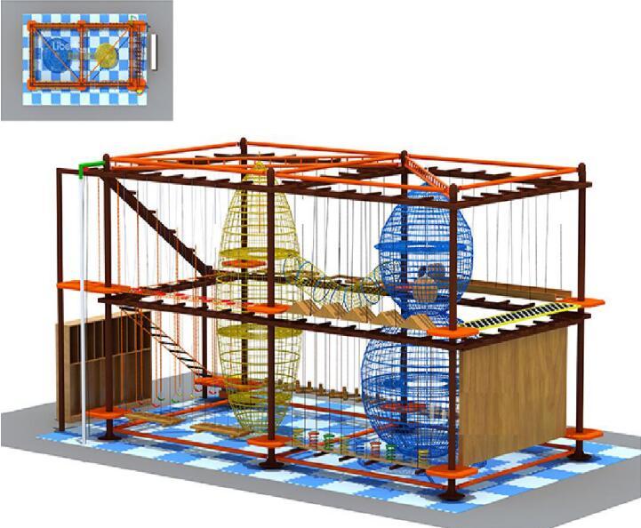 室内儿童拓展-55平|儿童拓展系列-温州口袋屋游乐玩具有限公司