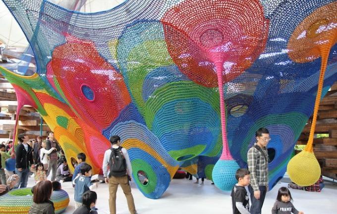 室内游乐设备彩虹爬网|彩虹爬网系列-温州口袋屋游乐玩具有限公司