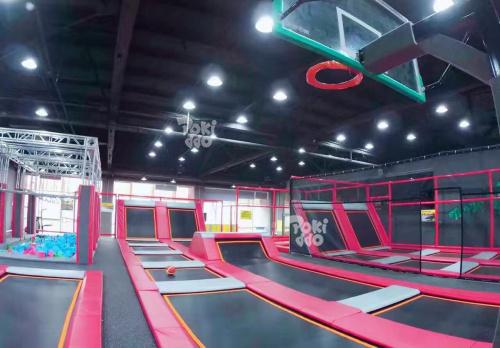 室内蹦床乐园-298平|蹦床公园系列-温州口袋屋游乐玩具有限公司