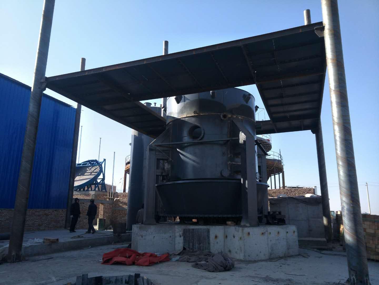 山西大牛矿业煤气炉施工进行中|成功案例-唐山圣洁环保科技有限公司