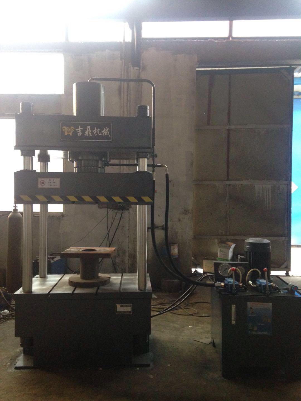四柱液压机发货啦|公司新闻-滕州吉鼎机械有限公司