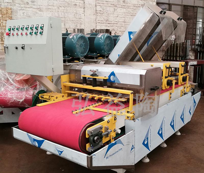 HYT-800型双组刀连续介砖机|瓷砖切割机系列-佛山市弘益陶机械有限公司