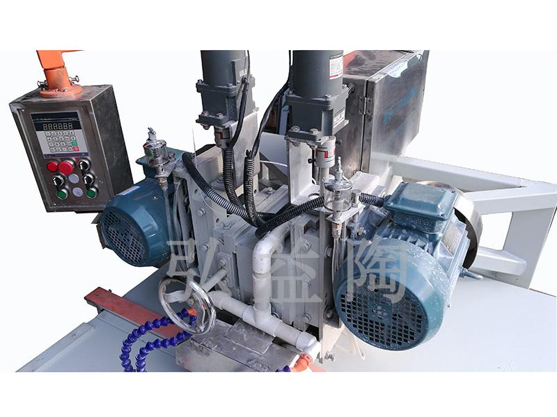 HYT-1200型数控手推双刀头切割机|瓷砖倒角机系列-佛山市弘益陶机械有限公司