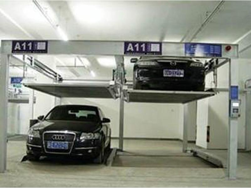 立体车库 汽车举升机 小区简易停车位 固定式导轨升降图片