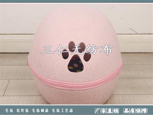 毛毡宠物窝 羊毛毡工艺品-河北菲娱国际娱乐平台app下载纺布有限公司