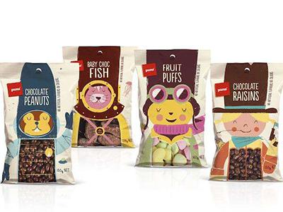 休闲零食包装袋 休闲零食包装袋-厦门市汇盈印刷包装有限公司
