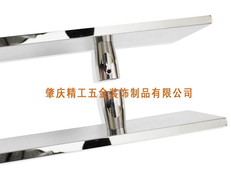 贝壳1005大门拉手 贝壳玻璃门拉手-肇庆精工五金装饰制品有限公司