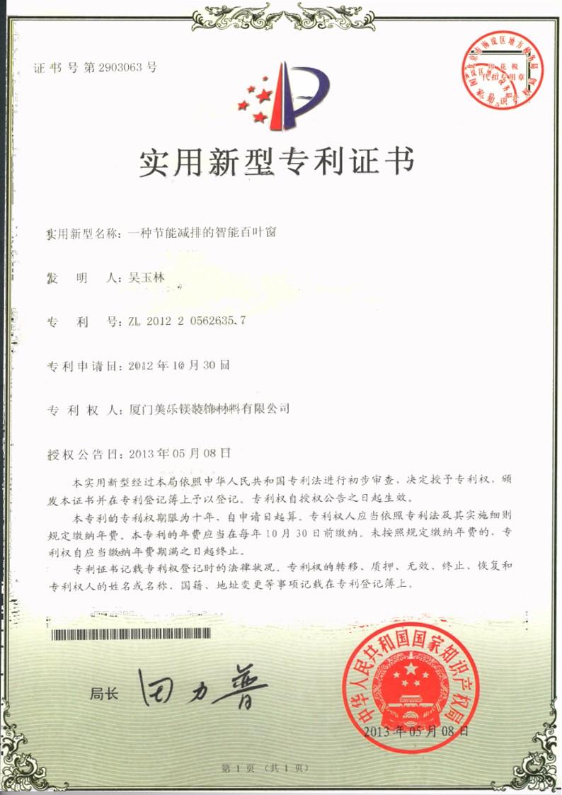 美樂鎂專利