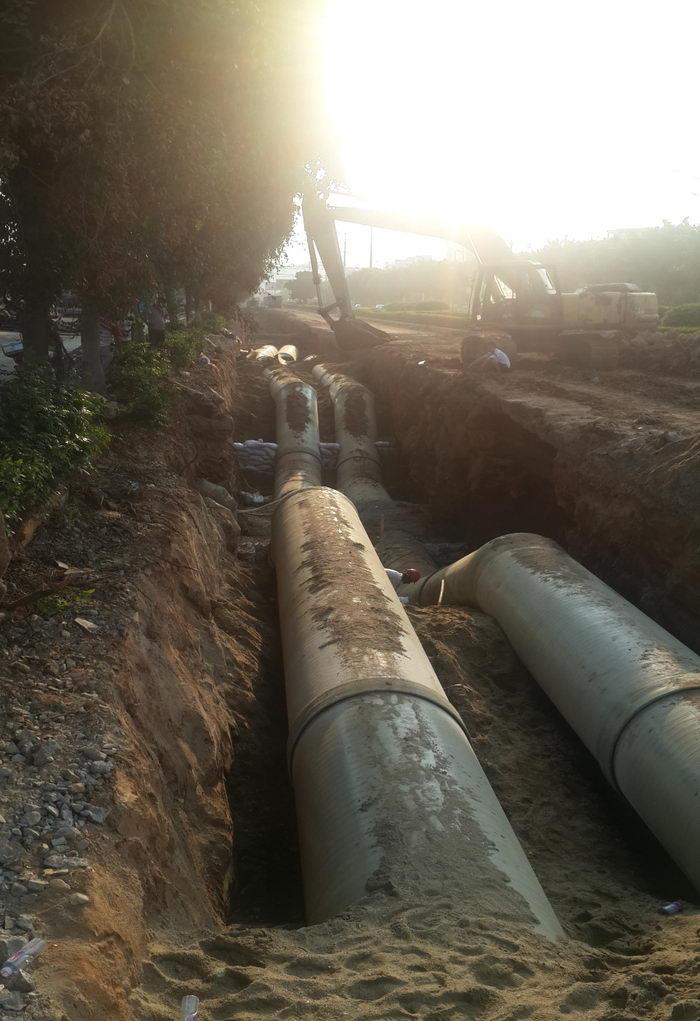 泉州市泉港南山片区 自来水厂工程(先期工程)|供水-福建路通管业科技股份有限公司