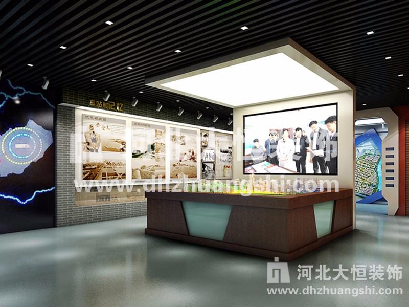 典读文史展览|展示展览工程案例-河北省大恒装饰工程股份有限公司