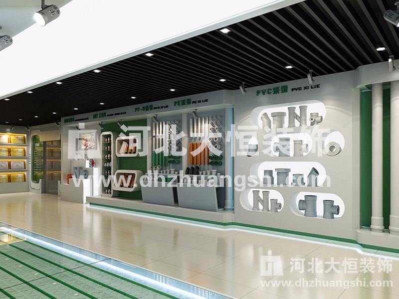 宏岳塑胶企业展馆|展示展览工程案例-河北省大恒装饰工程股份有限公司