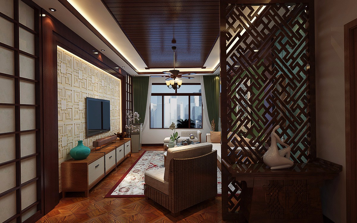 东南亚风格 装修案例-大连龙缘装饰工程有限公司