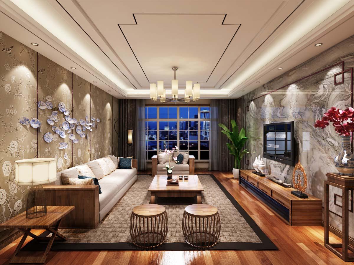 中式风格|装修案例-大连龙缘装饰工程有限公司
