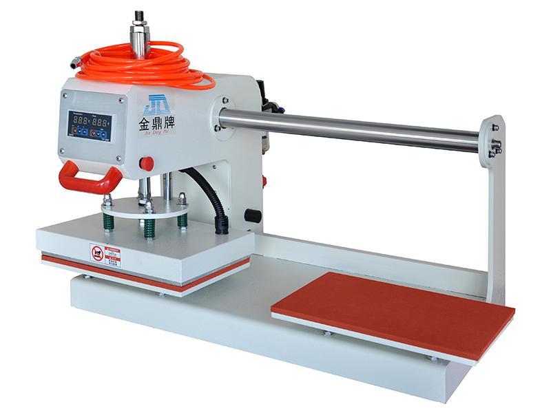氣動雙工位可調行程熱印機20*30cm