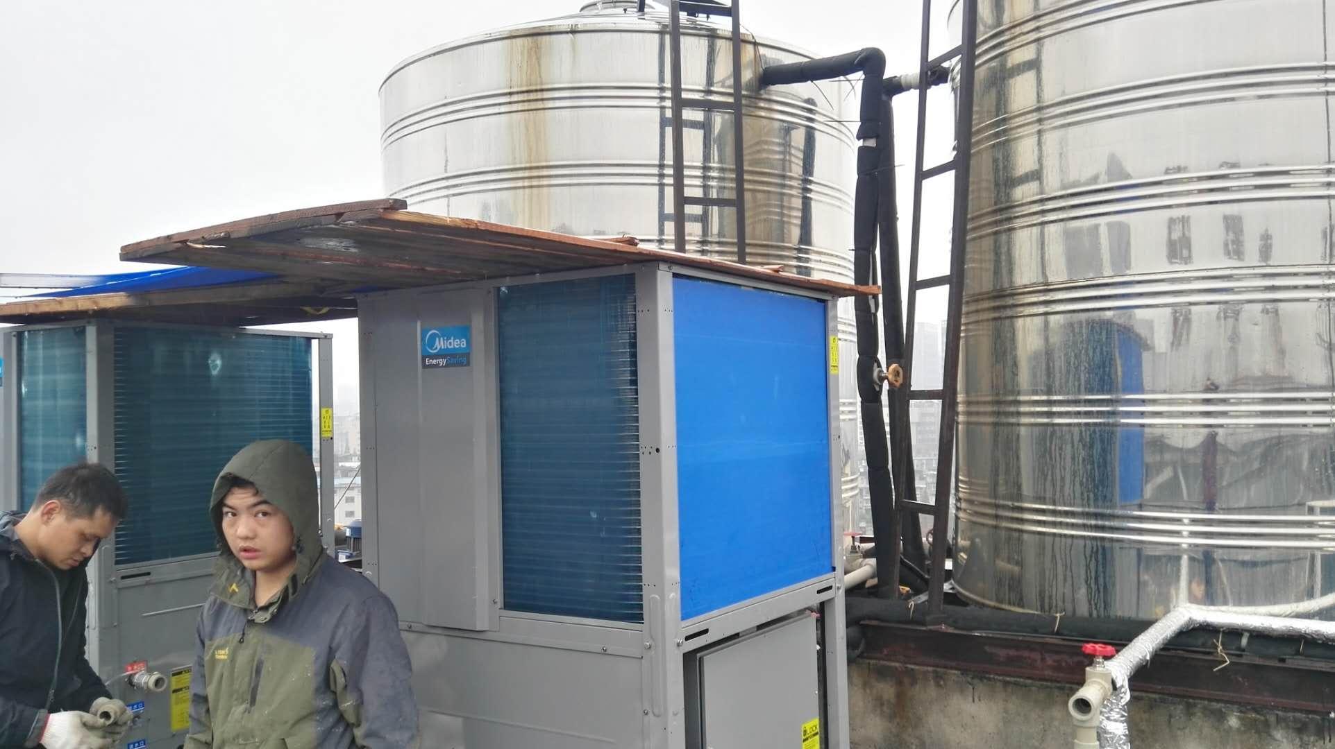 寶豐一路七天連鎖酒店美的空氣能熱水器項目改造合作成功|成功案例-武漢金恩機電工程有限公司