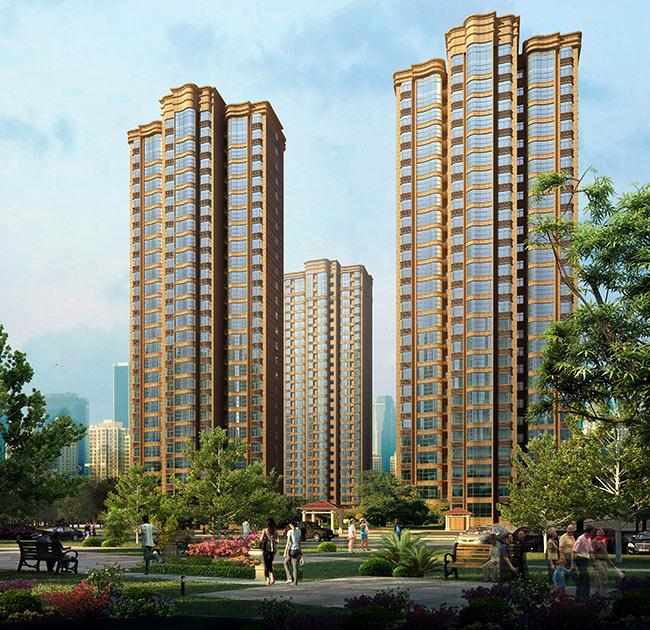 濮陽凱旋城|工程案例-河南軍輝建筑安裝工程有限公司
