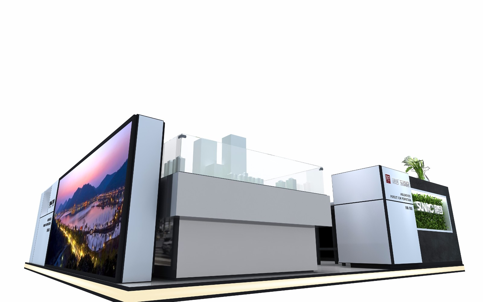 融创SM展台|商场展台-厦门市嘉维世纪会展服务有限公司