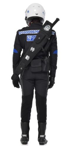 特警冬季骑行套装智能发热|交警消防装备-西安优盾警用装备有限公司