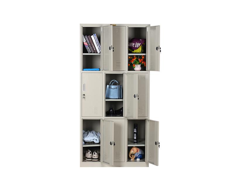 九门更衣柜——加板|更衣柜-广西花城办公家具有限公司