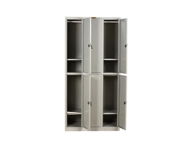 六门更衣柜|更衣柜-广西花城办公家具有限公司