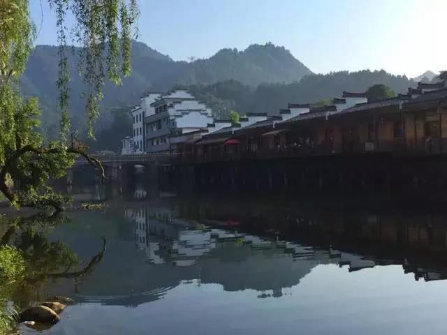 随后游玩国家aaaa级景区——瑶里风景名胜区,游中国历史文化名镇—