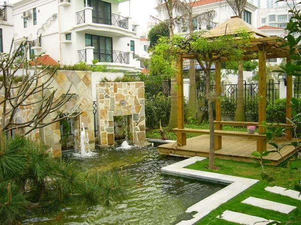 庭院|別墅-上海吉米裝潢有限公司