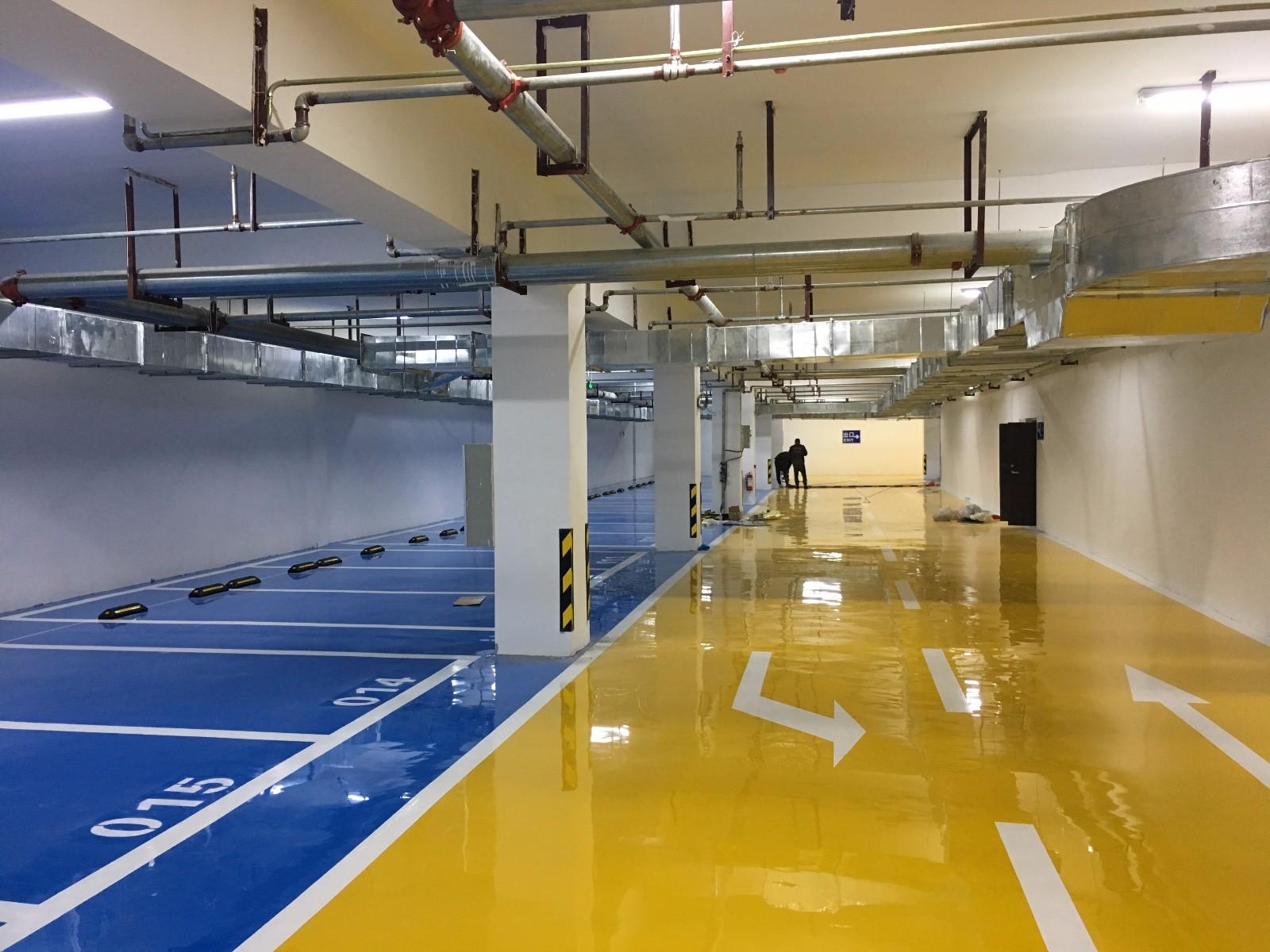 【工程案例】隴南市人民銀行地下停車庫|工程案例-甘肅地達建材有限公司