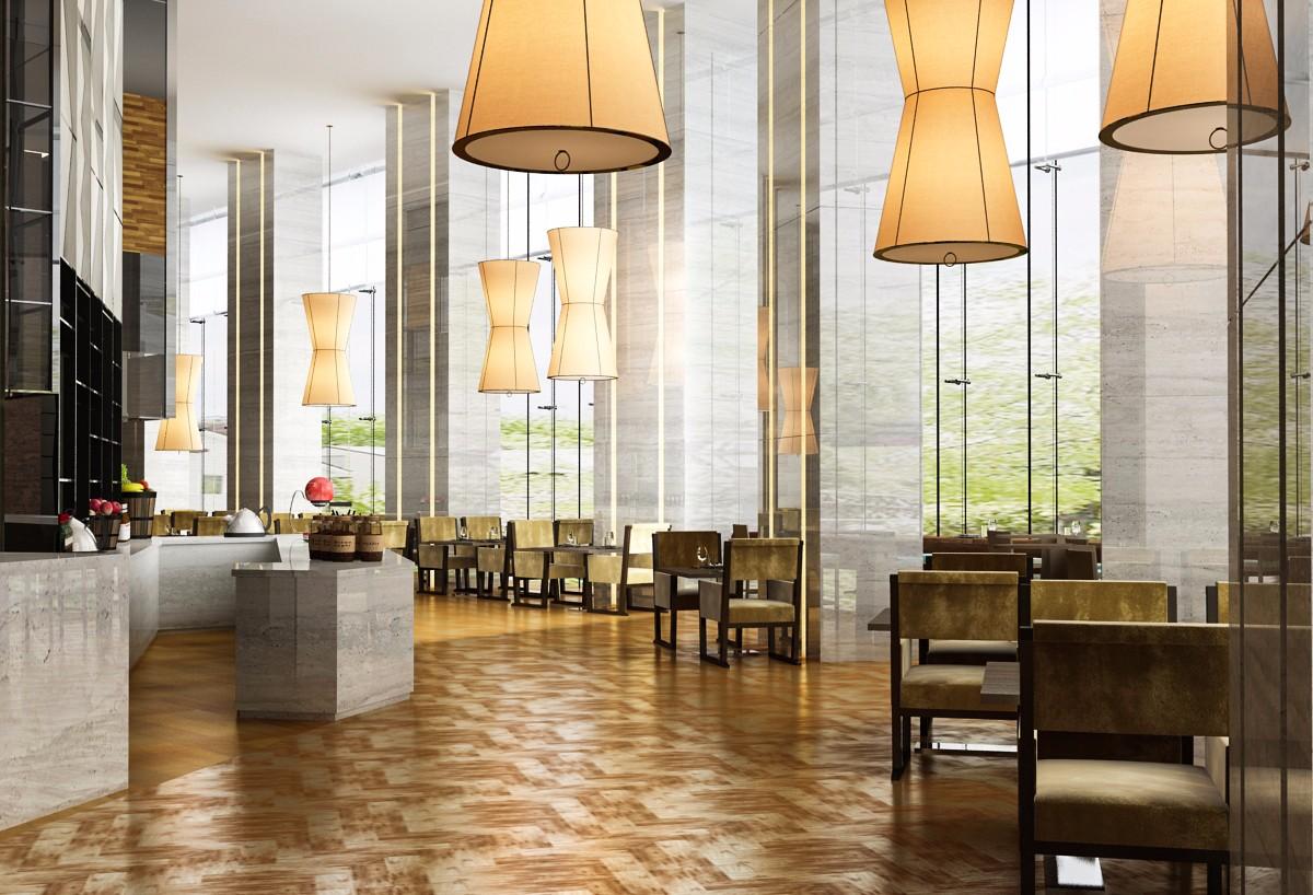 介绍两种不同风格的餐饮室内设计