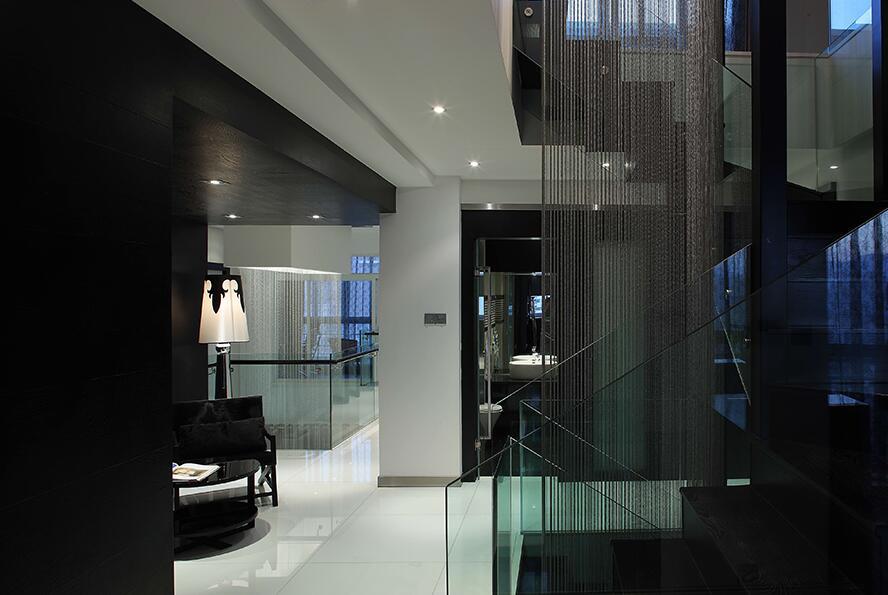 后现代风格楼梯间效果图