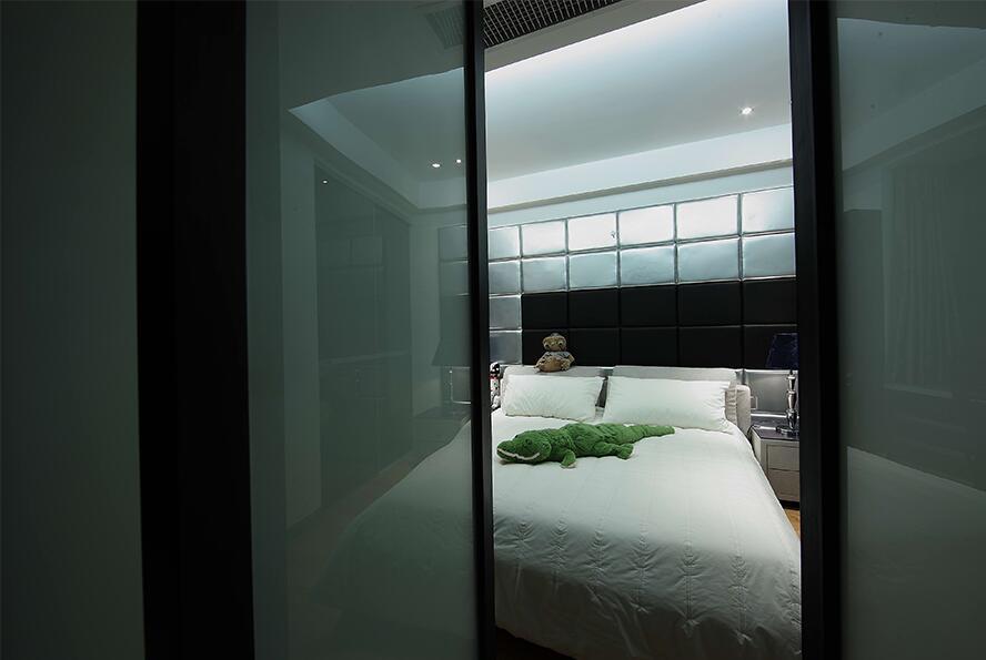 后现代风格副卧室效果图