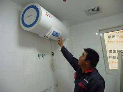 万和电热水器维修案例