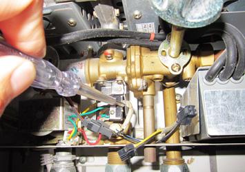 年代热水器出水温度达不到设定值维修案例