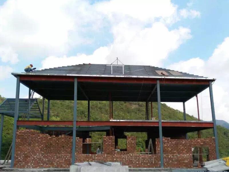 马甲杜先生家钢结构别墅