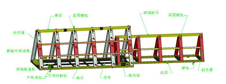 反恐移动组合伸缩式矩马|推荐产品-西安优盾警用装备有限公司