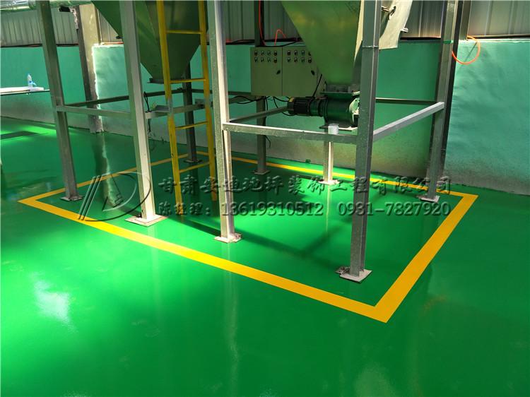 甘肃兰州某建材公司厂房车间环氧砂浆地坪施工工程案例 环氧地坪-甘肃安迪地坪装饰工程有限公司