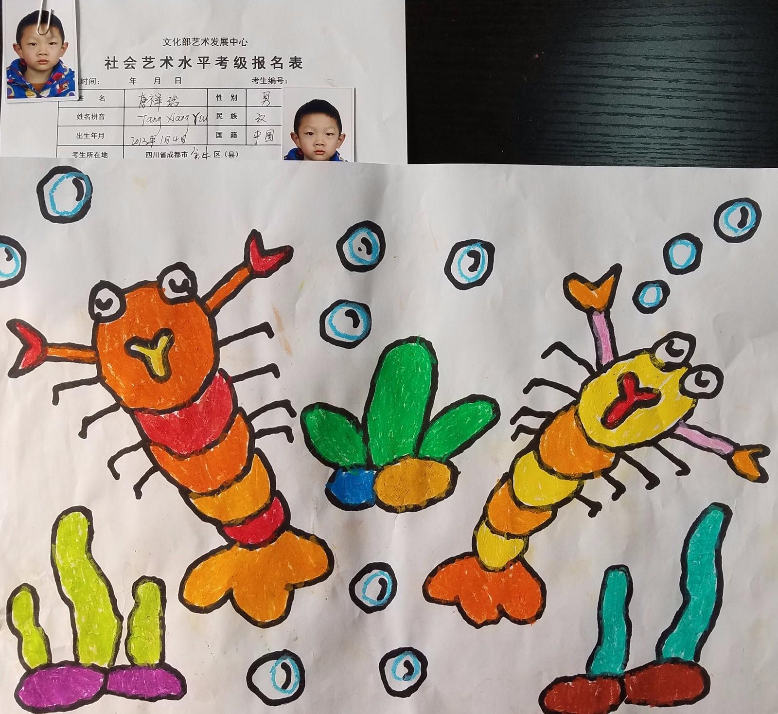 双何幼儿园2017考级作品展(2)|2017年考级作品展-四川星校教育科技图片