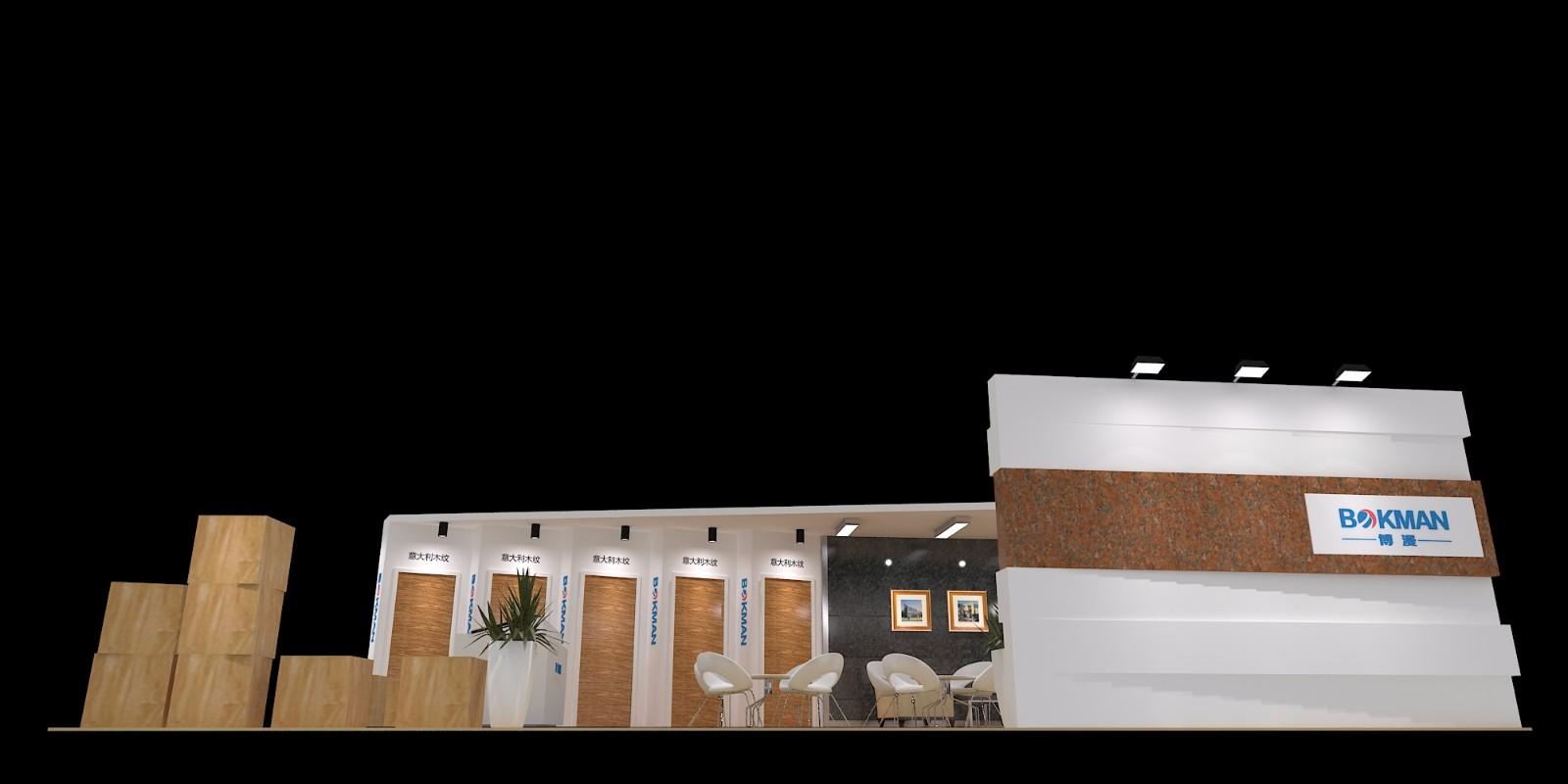 石材展-博漫|展览特装-厦门市嘉维世纪会展服务有限公司