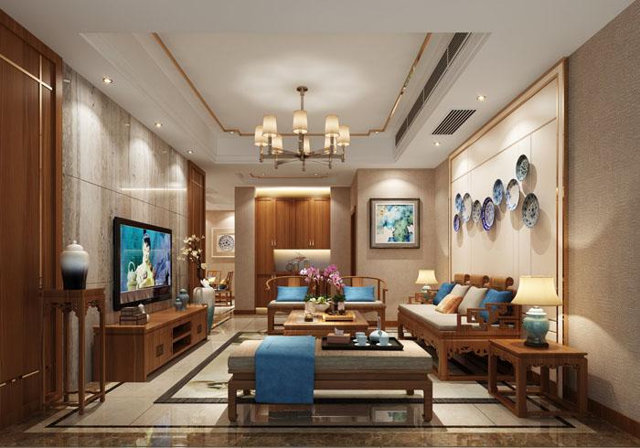中式風格  全包:1200元—1350元/㎡  半包:710元—800元/㎡|裝修報價-上海煥心建筑裝潢有限公司