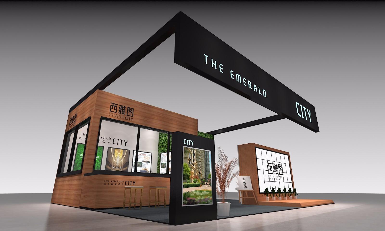 西雅圖|展覽特裝-廈門市嘉維世紀會展服務有限公司