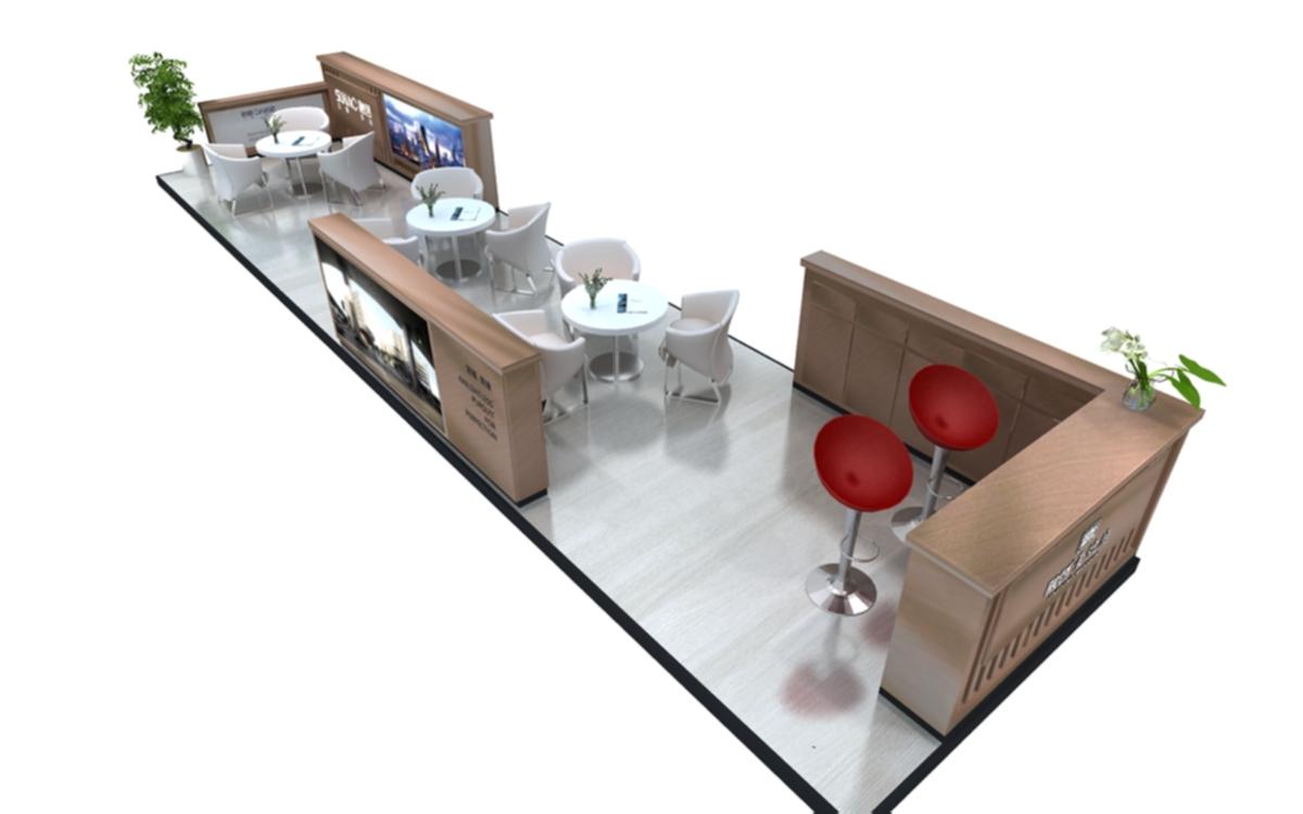 融创莆田|商场展台-厦门市嘉维世纪会展服务有限公司