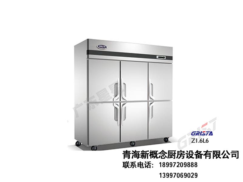 B系厨房冷柜(高身柜)|风冷冷柜-青海新概念厨房设备有限公司