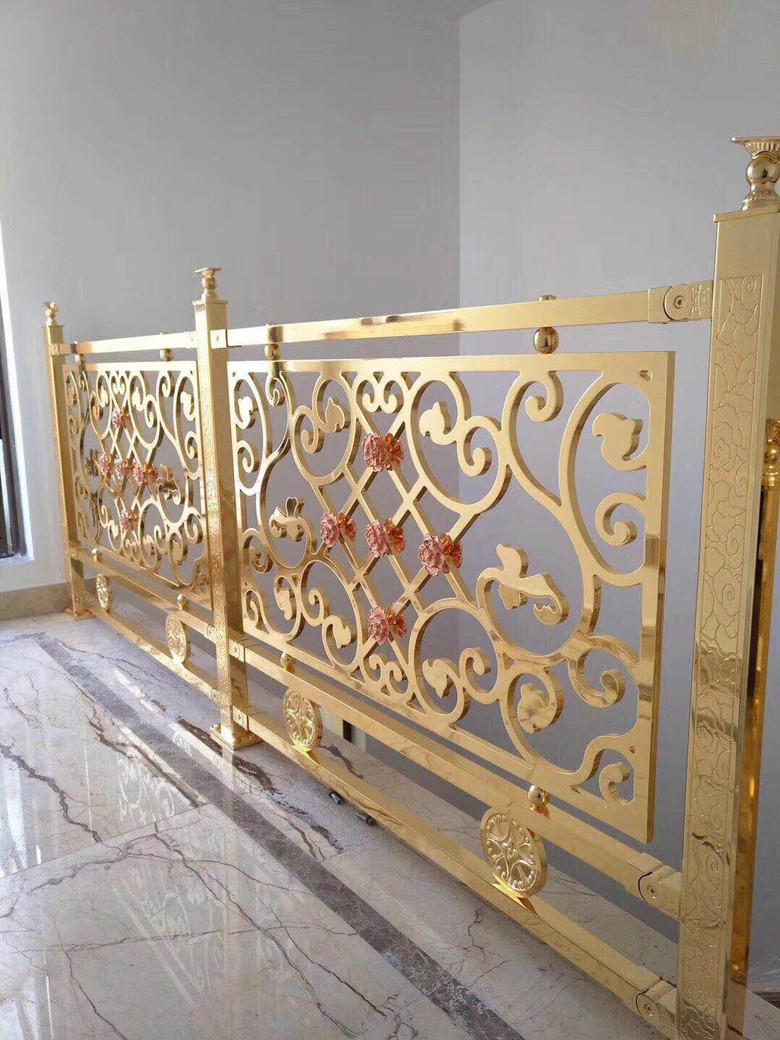 铝艺楼梯护栏|大门拉手-肇庆精工五金装饰制品有限公司