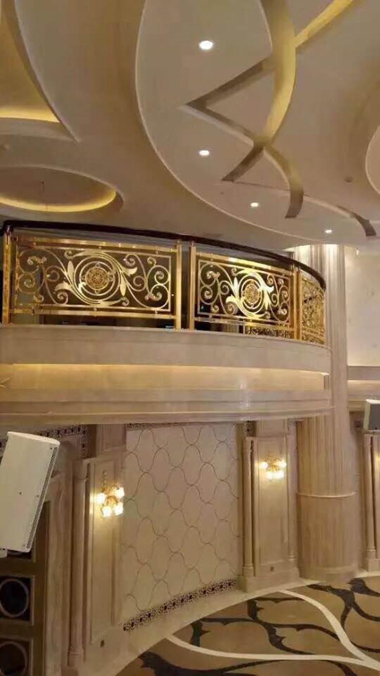 铝艺楼梯护栏