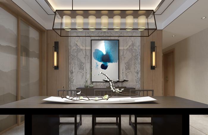 品尊國際  中式風格裝修案例|裝修案例-上海煥心建筑裝潢有限公司