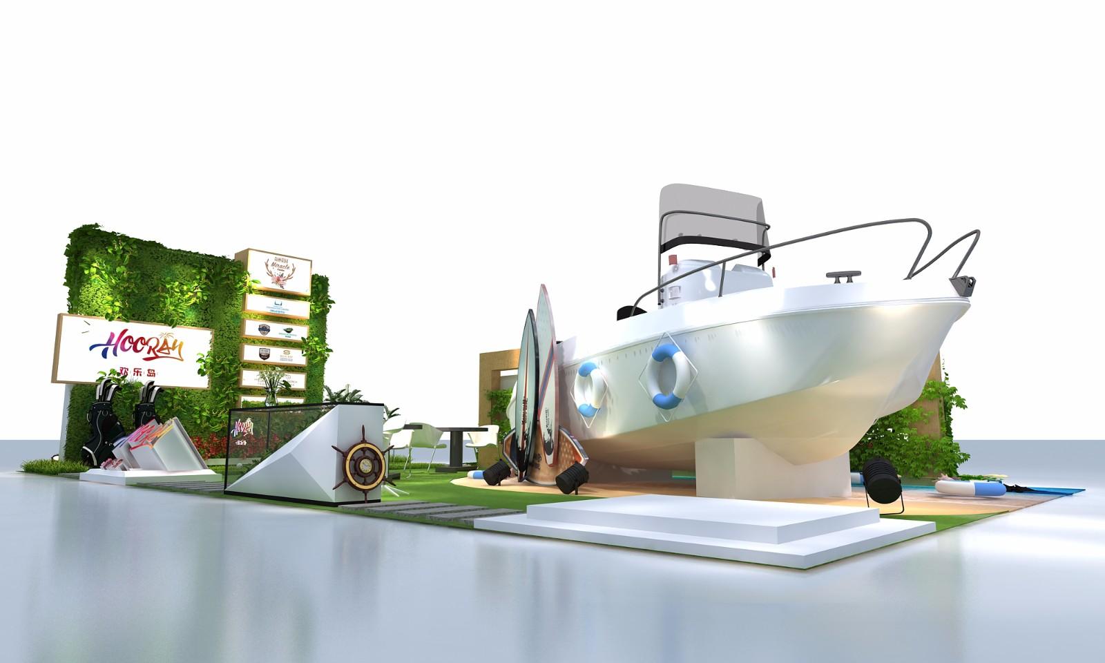 2017旅博會-歡樂島|展覽特裝-廈門市嘉維世紀會展服務有限公司