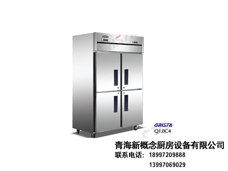 C系厨房冷柜(高身柜)|风冷冷柜-青海新概念厨房设备有限公司